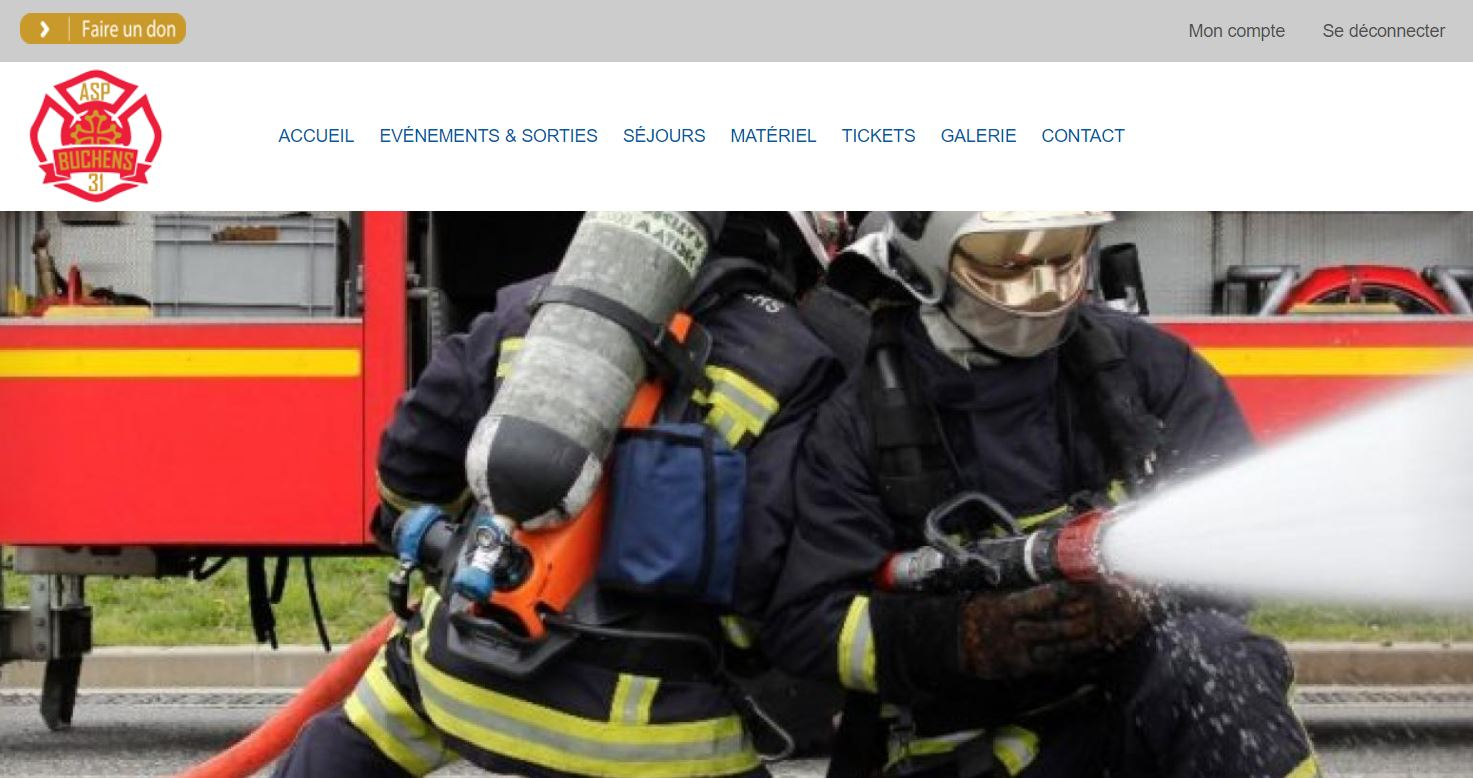Site Web ASP Buchens Ramonville