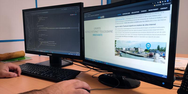 création sites Web Toulouse